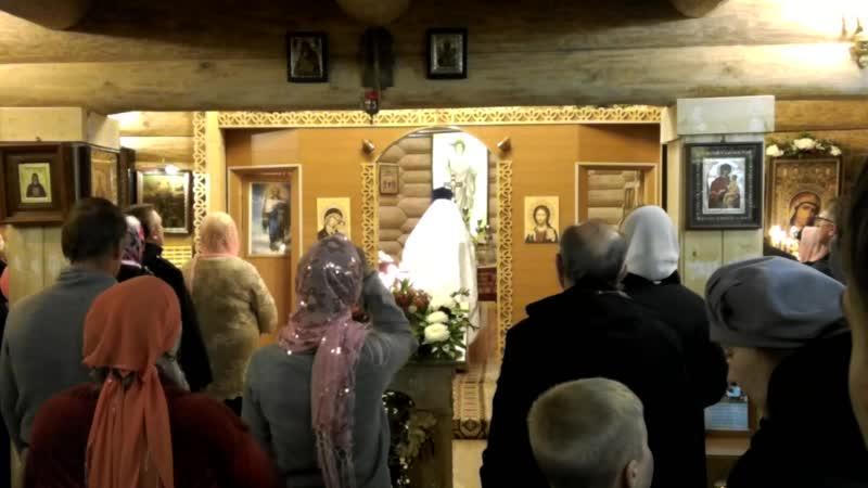 10-08,04,18 Пасха Христова в Кузьмоловском Храме