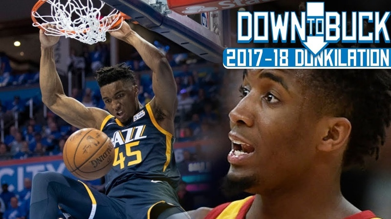 Donovan Mitchell All 42 Dunks Full Highlights (2017-18 Season Dunkilation)