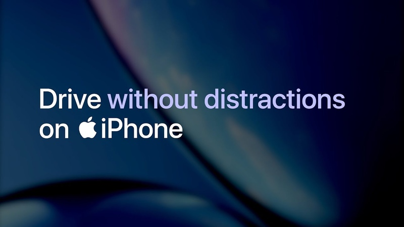 IPhone Turn off your notifications when you drive