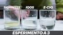 Cosa fa meno male tra sigarette HEETS Iqos e SVAPO Esperimento a 3