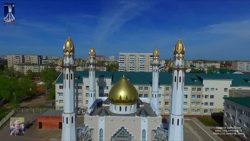 Костанайская мечеть. Проект Виды города КостанайBest of Kostanay Aerial FPV Drone flights