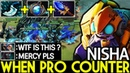 Nisha [Tinker] When Pro Counter Pick DELETE Cancer 7.19 Dota 2
