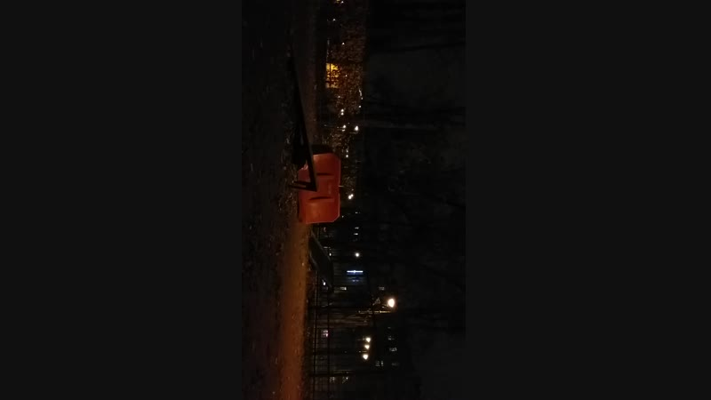 Test Рамзес на скейте - correct kickflip с трамплина в Парке Победы (др. ракурс) 18.10.2018