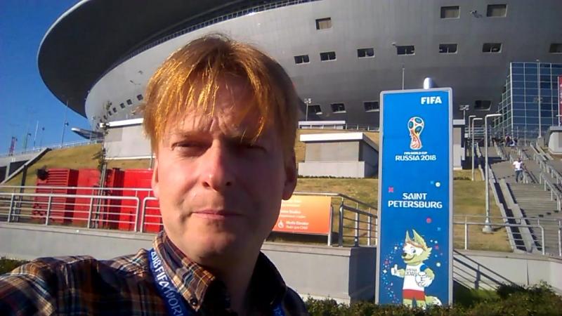 Иван Жидков перед матчем Нигерия – Аргентина
