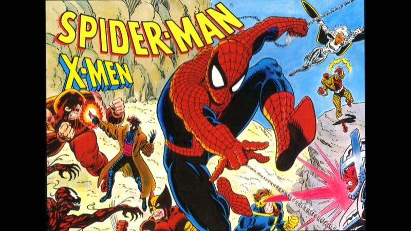 Spider-Man and the X-Men in Arcade's Revenge. SEGA Genesis. Walkthrough