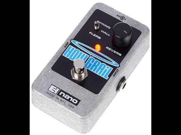 EHX Holy Grail Nano Reverb - bass guitar sound example