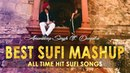 Best Sufi Songs Mashup | Hits of Rahat Fateh Ali Khan | Cover | Amandeep Singh