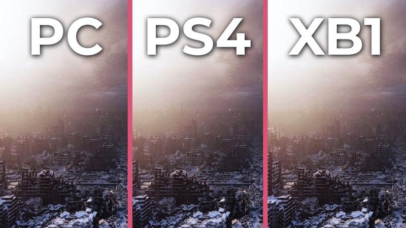 Metro Exodus – PC vs. PS4 vs. Xbox One Graphics Comparison