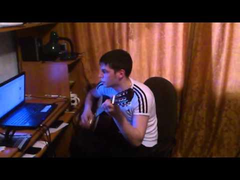 Песня под гитару Там на суку сидит ворона (Леонид Канев)