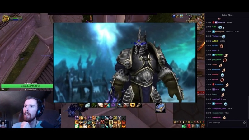 Asmongold Reacts to The True Story of Arthas, the Lich King! - (Warcraft Lore) by Nixxiom