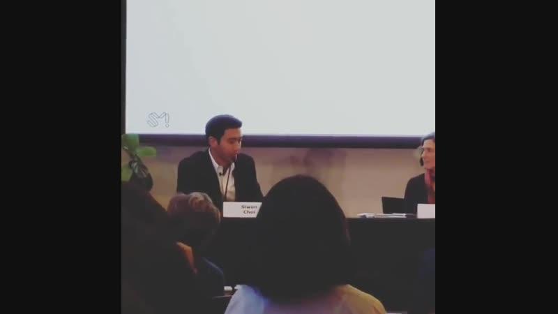 181102 Шивон на конференции в Стэнфордском университете