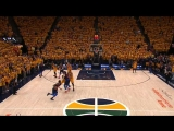 Here are two additional angles on Paul Georges 3-point attempt late in the Oklahoma City Thunder-Utah Jazz game.