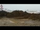 Перелив воды р.Лена через дорогу Сангар - Авиапорт