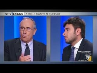 Otto e Mezzo (La7) 28 Maggio 2018 - Alessandro Di Battista, Massimo Franco - YouTube
