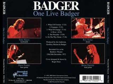 Badger live Wheels of fortune