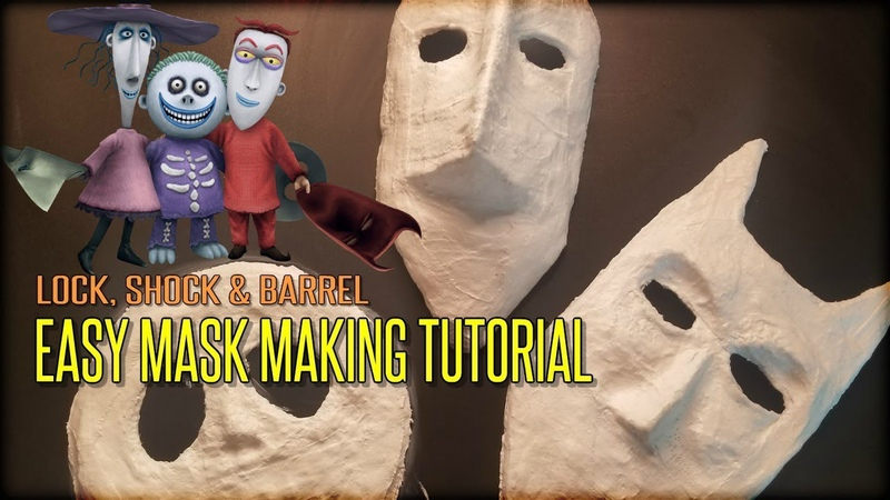 Creating Lock, Shock and Barrel from The Nightmare Before Christmas!