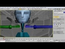 Making Of Transformers Bumblebee Using 3DS MAX - 01 biped steup part1