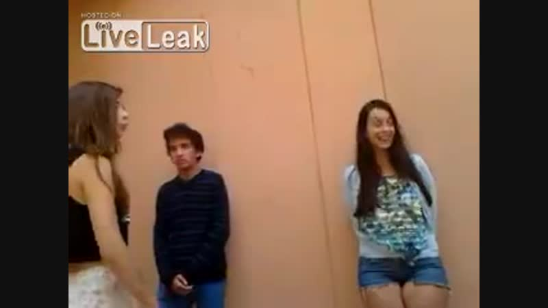 Teenager is bullied by two girls