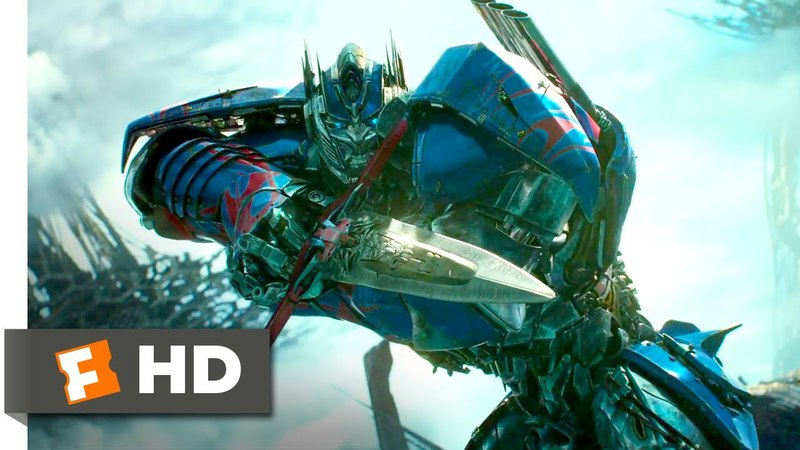 Transformers: The Last Knight (2017) - Optimus Arrives Scene (9/10)   Movieclips