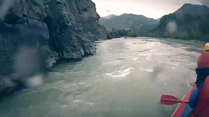 спортивный сплав ( рафтинг) по реке Катунь - Горный Алтай-juclip-scscscrp