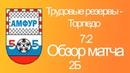 Трудовые резервы - Торпедо. Обзор матча. 05/11/18.