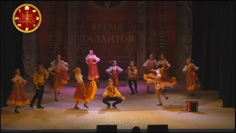 Массовый танец Удальцы Молодцы