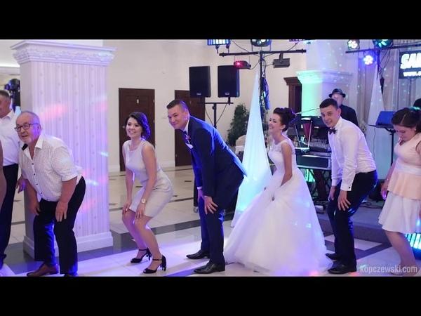 Taniec Pingwina - zabawa taneczna na weselu - Zespół SAMI SWOI z Białegostoku - Penguine dance