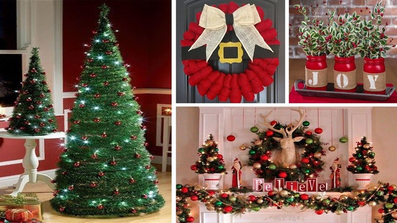 DIY Christmas Decor! Easy Fast DIY Christmas Winter Ideas for Teenagers 31