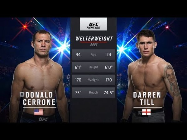 Fight Night Liverpool Free Fight: Darren Till vs Donald Cerrone fight night liverpool free fight: darren till vs donald cerrone