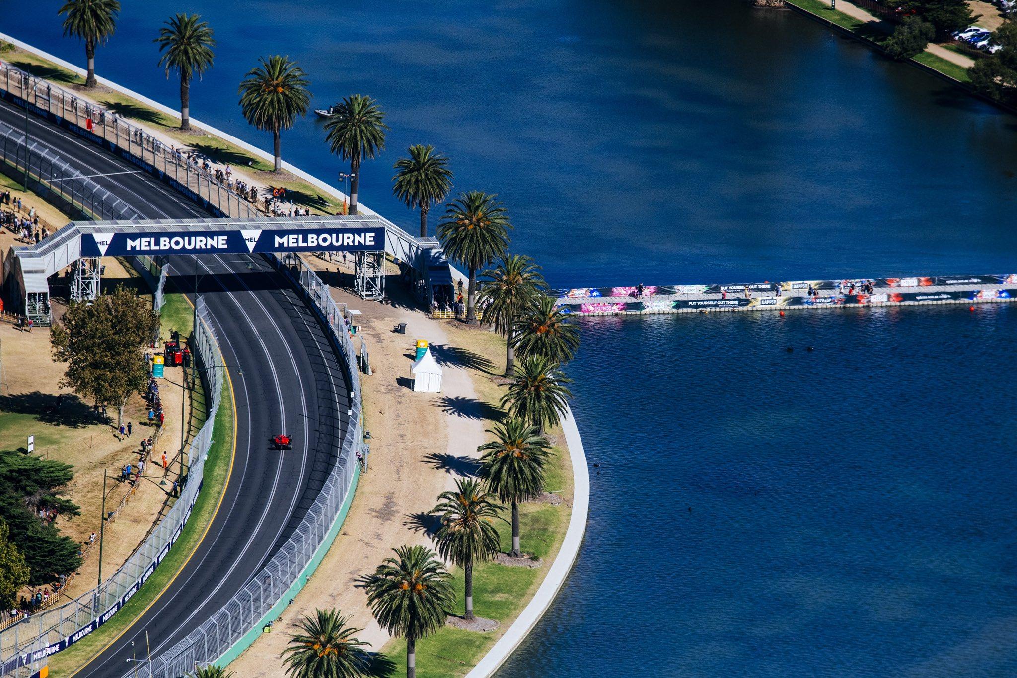 Автодром Альберт-Парк в Мельбурне