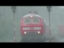 Mega Geil 3 BR 218 mit Doppeltraktion ICE 2 fuhr durch Gütersloh