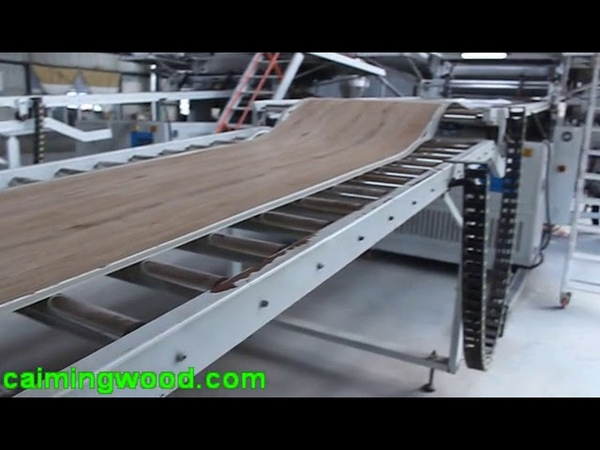 Линия по производству SPC