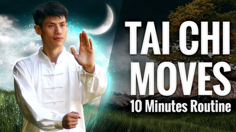 10 Tai Chi Moves for Beginners 10 Minute Daily Taiji Qi Gong Routine
