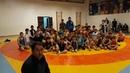Юные борцы желают удачи нашей сборной на чемпионате мира в Будапеште