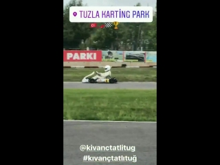 KivancTatlitug Tuzla Karting Park август 2018