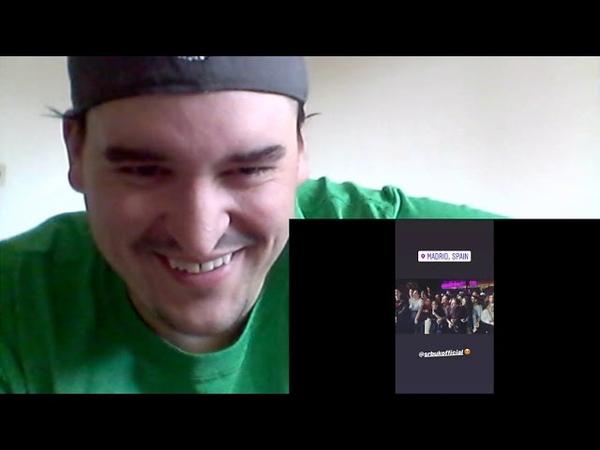 Sloth Reacts Eurovision 2019 Armenia Srbuk Walking Out Live Rehearsal 2 REACTION