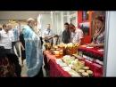 Освящение мёда на выставке Медовый Спас в Петербургском СКК 14 08 18 часть 2