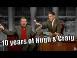 Hugh Laurie &amp Craig Ferguson - 88 Visits + Other Hugh Related Content In Chronological Order