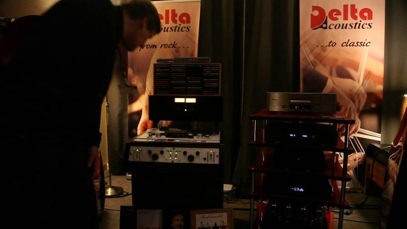 Delta Acoustics Selena SA@Dmitry Lukyanov master tape@TEAC A 6700@MHES 2018