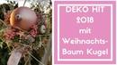 Deko Idee Weihnachten - Weihnachtsbaum Kugel Zepter - Exklusive Deko Idee zum selber basteln