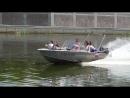 Это было круто, моторная лодка на реке!