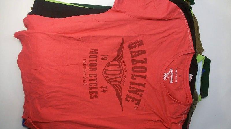 0887 T - Shirts Mens Extra (10 kg) 4пак - мужские футболки экстра Англия
