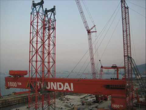 Sarens - Strandjacks - Lifting Goliath Crane - Ulsan - South Korea