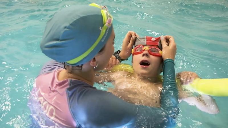 Плавание для детей от 3 до 5 лет