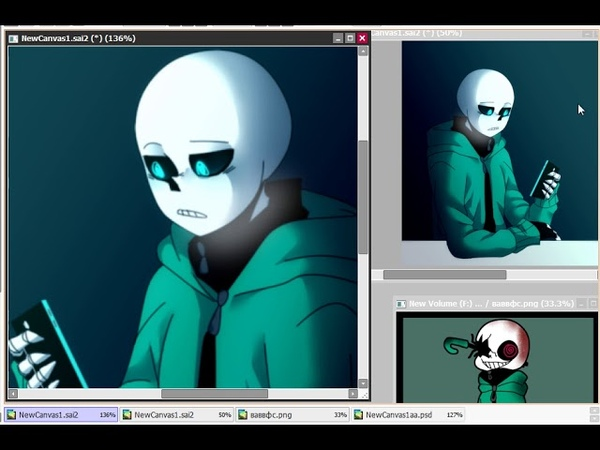 [Umdertale UA] Speedpaint - the answer to the ask