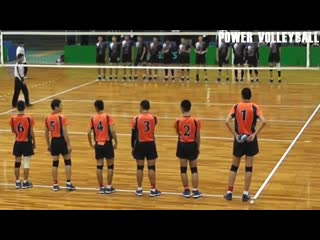 15 years old 207cm tall volleyball player maki taiko (hd)