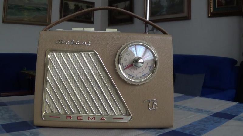Radio DDR Rema Trabant T6