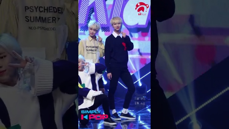 [Fancam/직캠] Yun Min(윤민) _ NewKidd(뉴키드) _ Shooting Star _ Simply K-Pop _ 101218