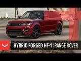 Vossen Hybrid Forged HF-1 Wheel Range Rover Sport Tinted Gloss Black