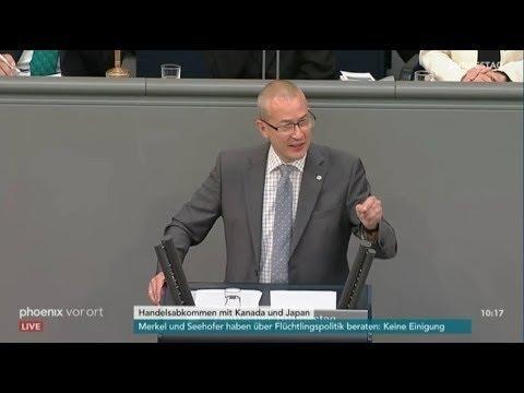 Wir lehnen Ceta und Jefta ab ► AfD - Hansjörg Müller im Bundestag - Patriot